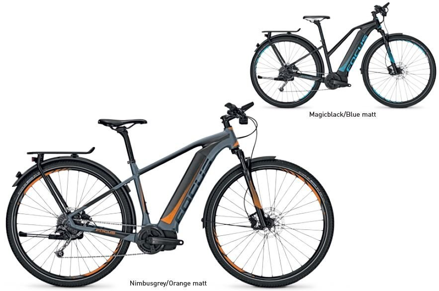 Focus Jarifa I Street 29R Elektro Fahrrad/Trekking eBike 2017