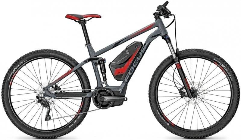 Focus Thron Pro 120 27.5R Elektro Fahrrad/Fullsuspension Mountain eBike 2017