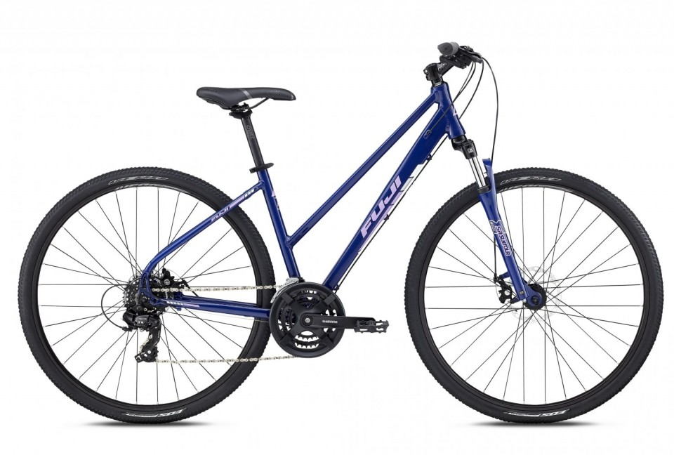 Fuji Traverse 1.9 ST Womens Cross Bike 2018