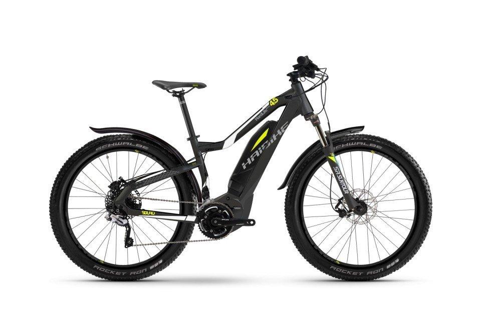 Haibike SDURO HardLife Street 4.5 400Wh 27.5R Elektro Fahrrad/Womens Mountain eBike 2017