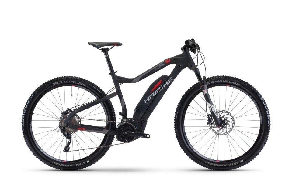 Haibike SDURO HardNine 8.0 eConnect 500Wh 29R Elektro Fahrrad/Twentyniner Mountain eBike 2017