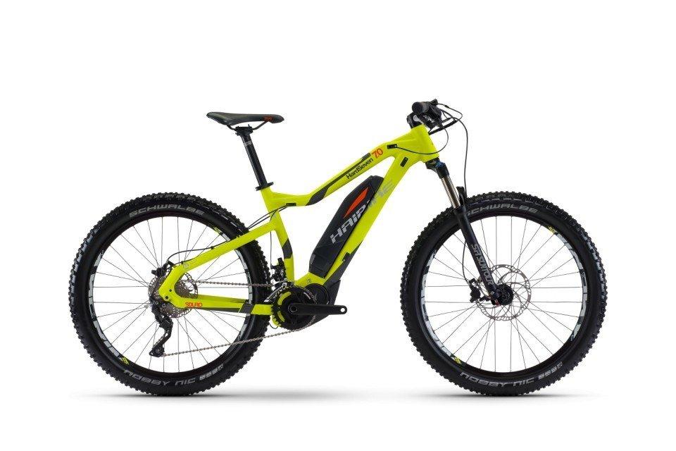 Haibike SDURO HardSeven 7.0 500Wh 27.5R Elektro Fahrrad/Mountain eBike 2017