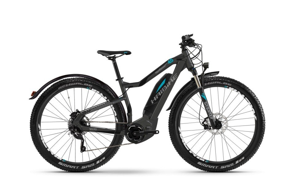 Haibike SDURO HardSeven Street 4.5 400Wh 27.5R Elektro Fahrrad/Mountain eBike 2017