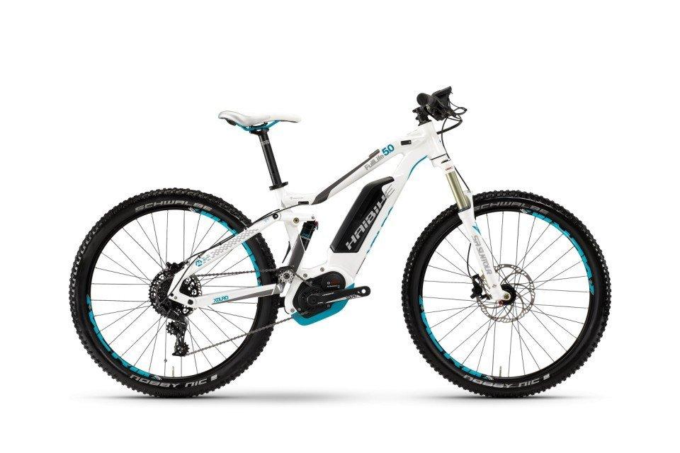 Haibike XDURO FullLife 5.0 500Wh 27.5R Elektro Fahrrad/Womens Mountain eBike 2017