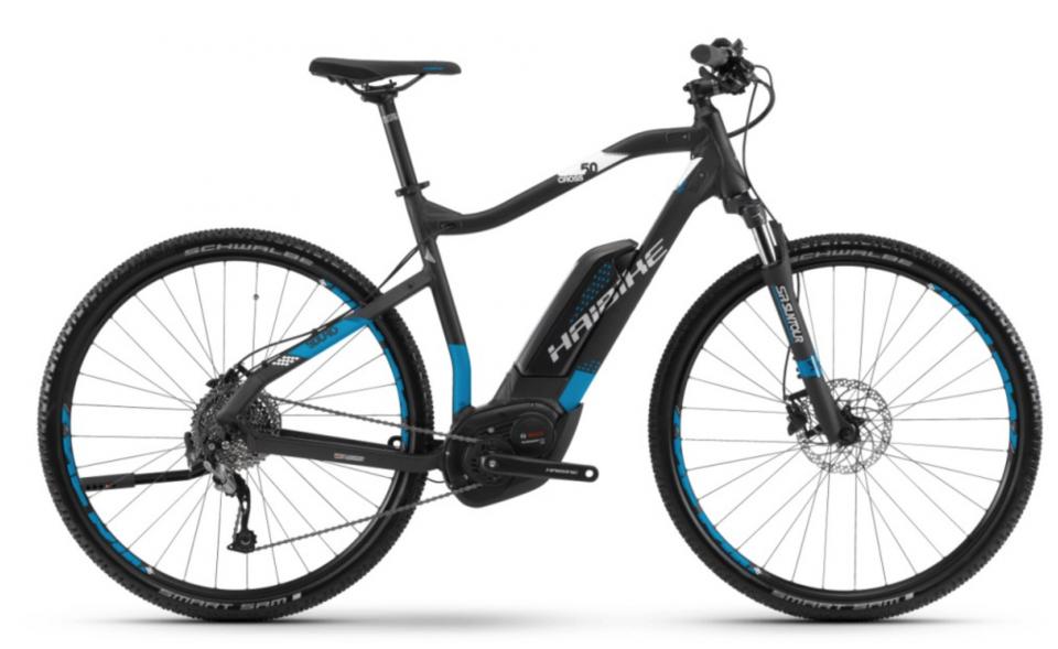 Haibike SDURO Cross 5.0 500Wh Bosch Elektro Fahrrad 2018