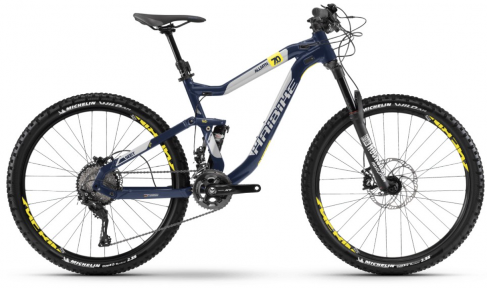 Haibike SEET AllMtn 7.0 27.5R All Mountain Bike 2018