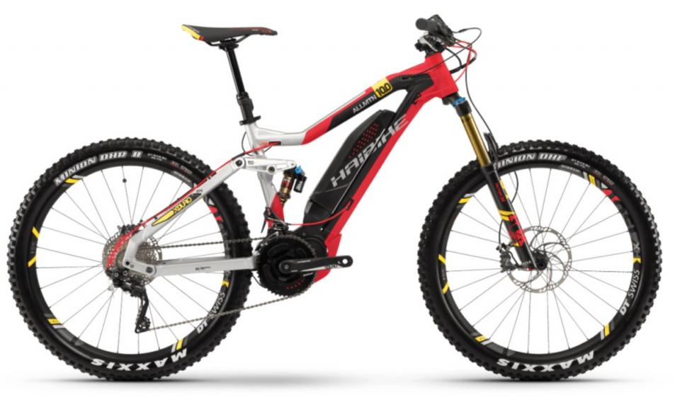 Haibike XDURO AllMtn 10.0 500Wh Yamaha eConnect 27.5R Elektro Fahrrad 2018