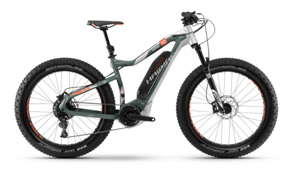Haibike XDURO FatSix 8.0 500Wh Yamaha Elektro Fahrrad 2018