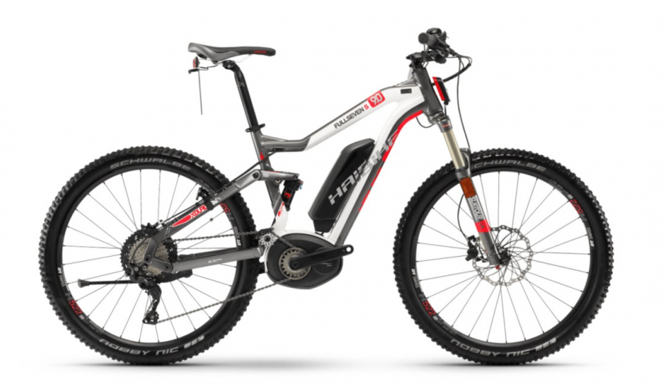 Haibike XDURO FullSeven S 9.0 500Wh Bosch 27.5R Elektro Fahrrad 2018