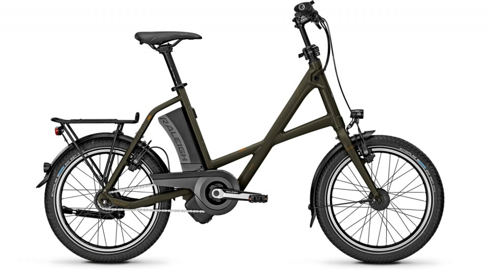Raleigh Leeds R Compact 11 Ah Impulse Elektro Fahrrad 2018