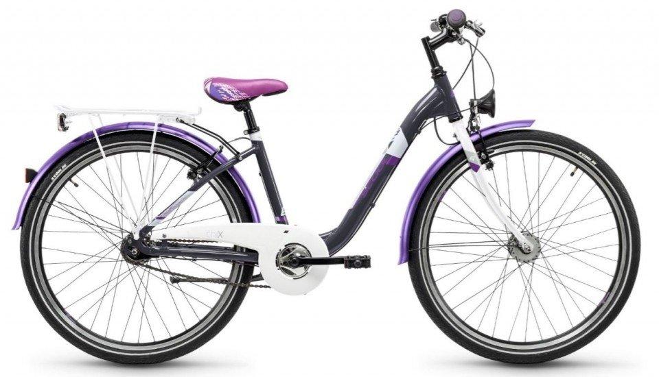 S'Cool chiX steel 26 7-S Kinder City Bike 2018