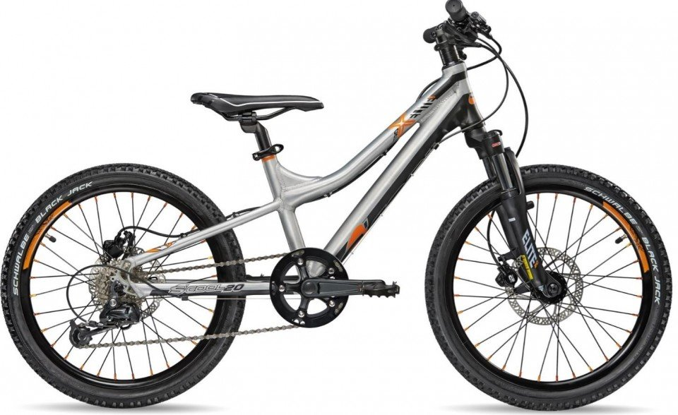 S'Cool troX elite 20R 9-S Kinder Mountain Bike 2018