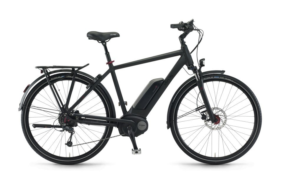 Sinus Tria 9 Elektro Fahrrad/Trekking eBike 2017