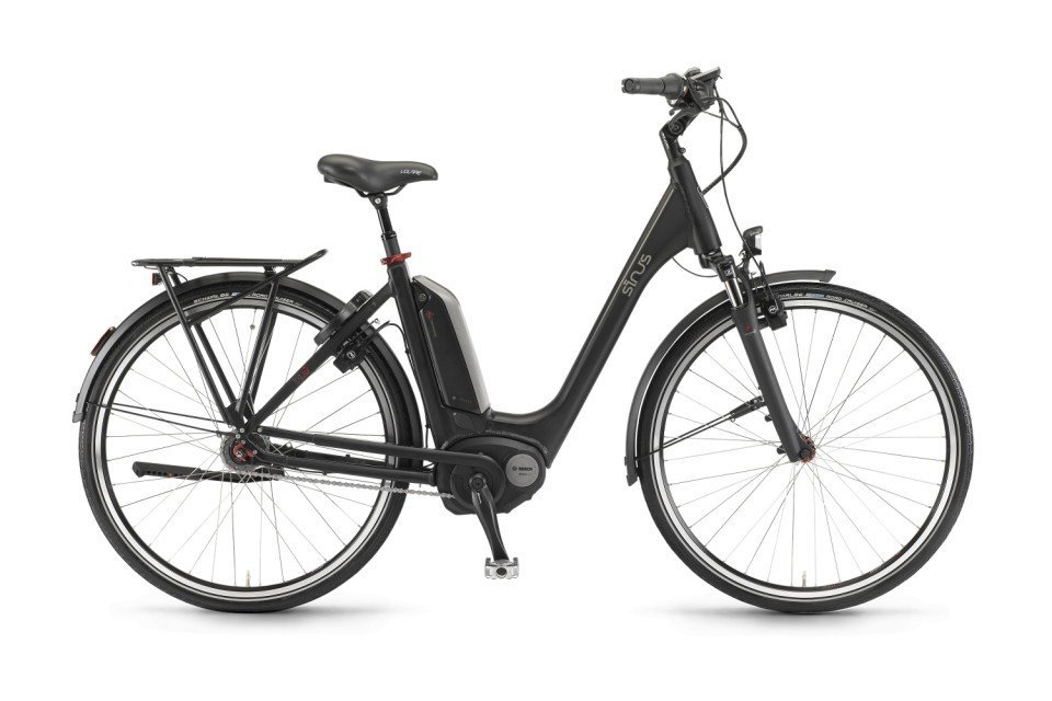 Sinus Tria N7 400Wh Elektro Fahrrad/City eBike 2017