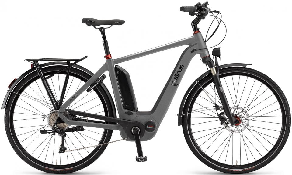 sinus ena11 elektro fahrrad city ebike 2017. Black Bedroom Furniture Sets. Home Design Ideas