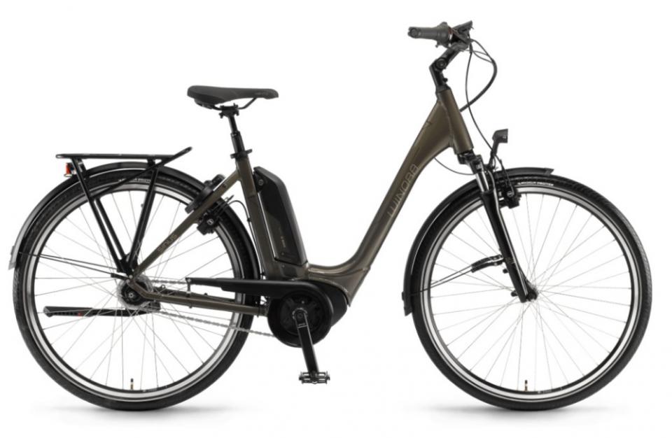 Winora Sinus Tria N8f 500Wh Bosch Elektro Fahrrad 2018