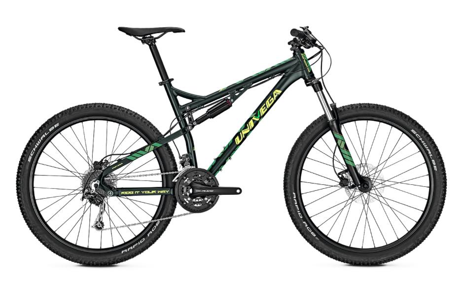 Univega Renegade 7.0 Fullsuspension Mountain Bike 2018