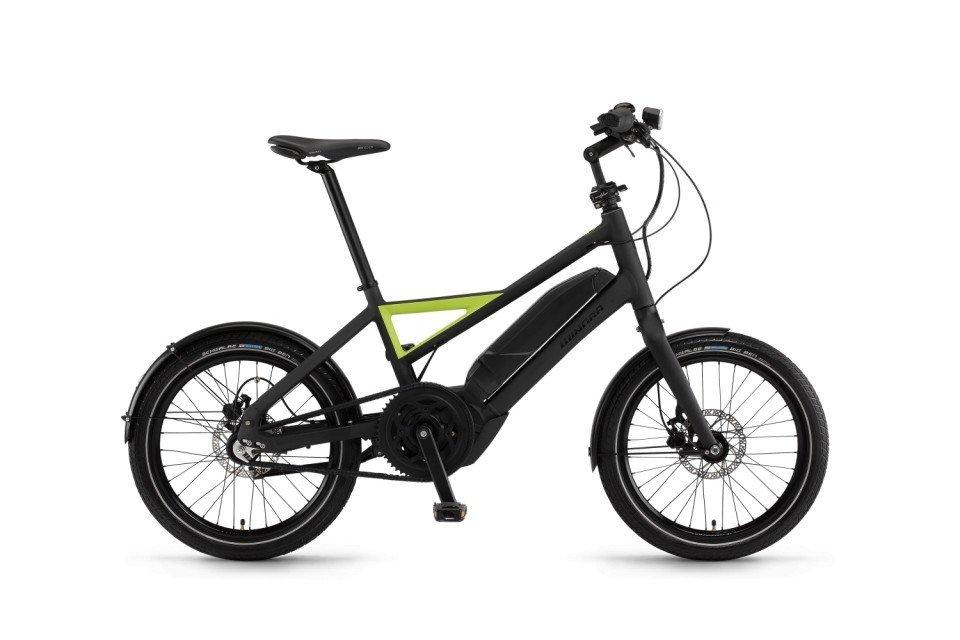 Winora Radius Urban 400Wh Elektro Fahrrad/20R Urban eBike 2017