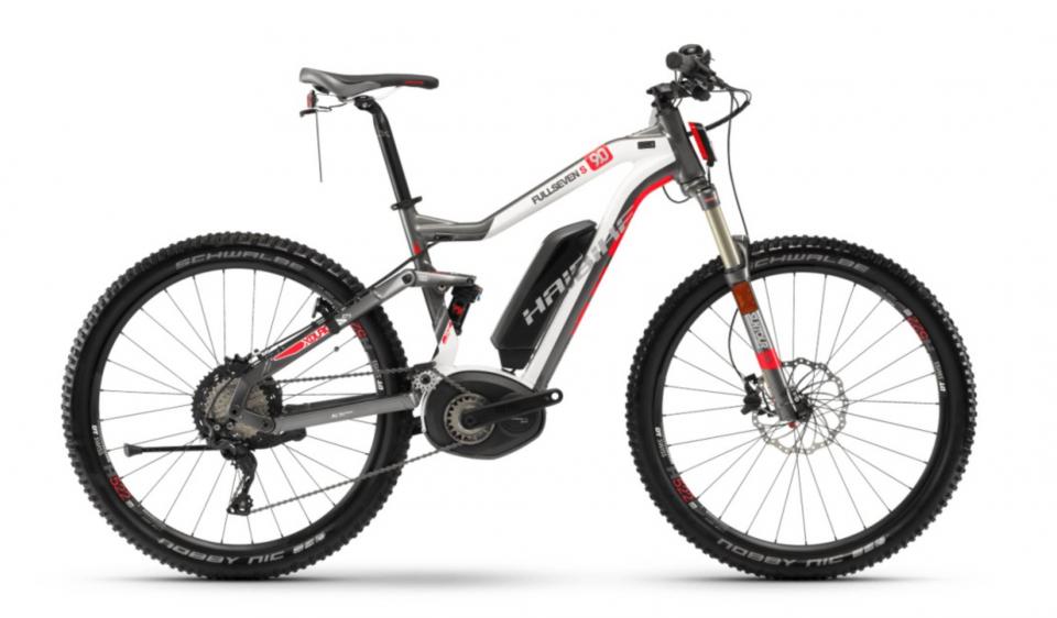 Haibike XDURO FullSeven S 9.0 Bosch Elektro Fahrrad 2018