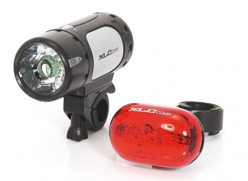 XLC Comp Cupid/Oberon CL-S07 LED Batterie Leuchten Set