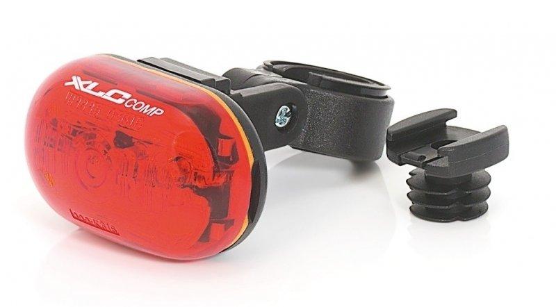 XLC Comp Oberon 5X CL-R09 LED Batterie Rückleuchte