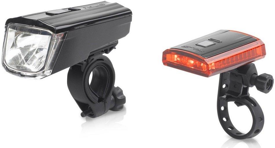 XLC Comp Lichtset Titania CL-S16 mit StVZO für alle Räder