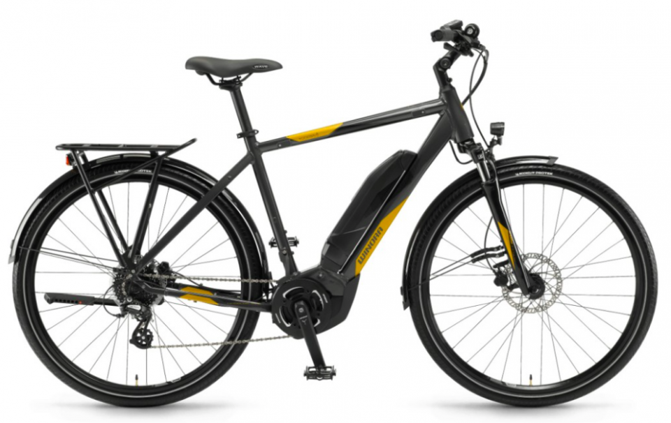 Winora Yucatan 8 400Wh Elektro Fahrrad 2018