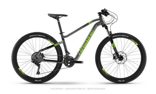 Haibike SEET HardSeven 4.0 Mountain Bike 2019 Grau/Grün/Schwarz   M/45cm