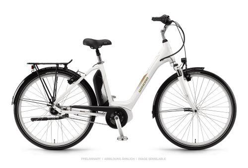 "Winora Sima N7f 400Wh Bosch Elektro Fahrrad 2019 Weiß | 28"" Einrohr 54cm"