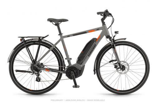 "Winora Yucatan 8 Yamaha Elektro Fahrrad 2019 Coolgrey | 28"" Herren Diamant 60cm"