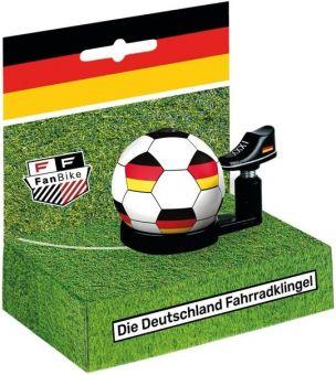 Fanbike Deutschland Fahrrad Glocke
