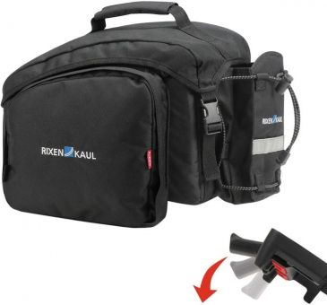 KLICKfix Rackpack 1 Plus Gepäckträger Topcase (mit Klickfix UniKlip Befestigungssystem)