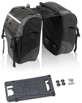 XLC Doppelpacktasche carry more