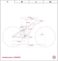 Ghost Framr 6.7 AL U 27.5R Fullsuspension Mountain Bike 2019