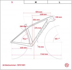 Ghost Hybride Lector SX5.7+ LC 27.5R Shimano Steps Elektro Fahrrad 2018