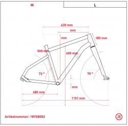 Ghost Hybride Andasol Wave B1.8 AL Bosch Elektro Fahrrad 2018