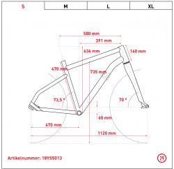 Ghost Hybride Square Cross B4.9 AL 29R Bosch Elektro Fahrrad 2018