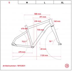 Ghost Hybride Square Trekking B1.8 AL Elektro Fahrrad 2018