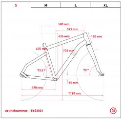 Ghost Hybride Square Trekking B5.8 AL Bosch Elektro Fahrrad 2018