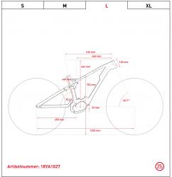 Ghost Hybride Slamr X S7.7+ LC Shimano Steps Elektro Fahrrad 2019