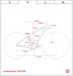 Ghost Hybride Teru B5.7+ AL U Bosch Elektro Fahrrad 2019