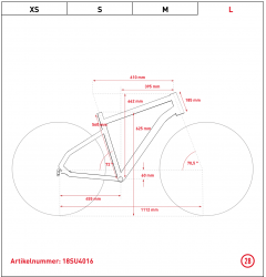 Ghost Square Urban X7.8 AL W Woman Urban Bike 2019