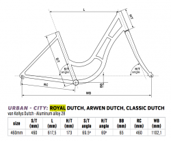 Kellys Arwen Dutch City Bike 2019