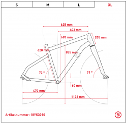 Ghost Hybride Square Trekking B8.8 AL Bosch Elektro Fahrrad 2018