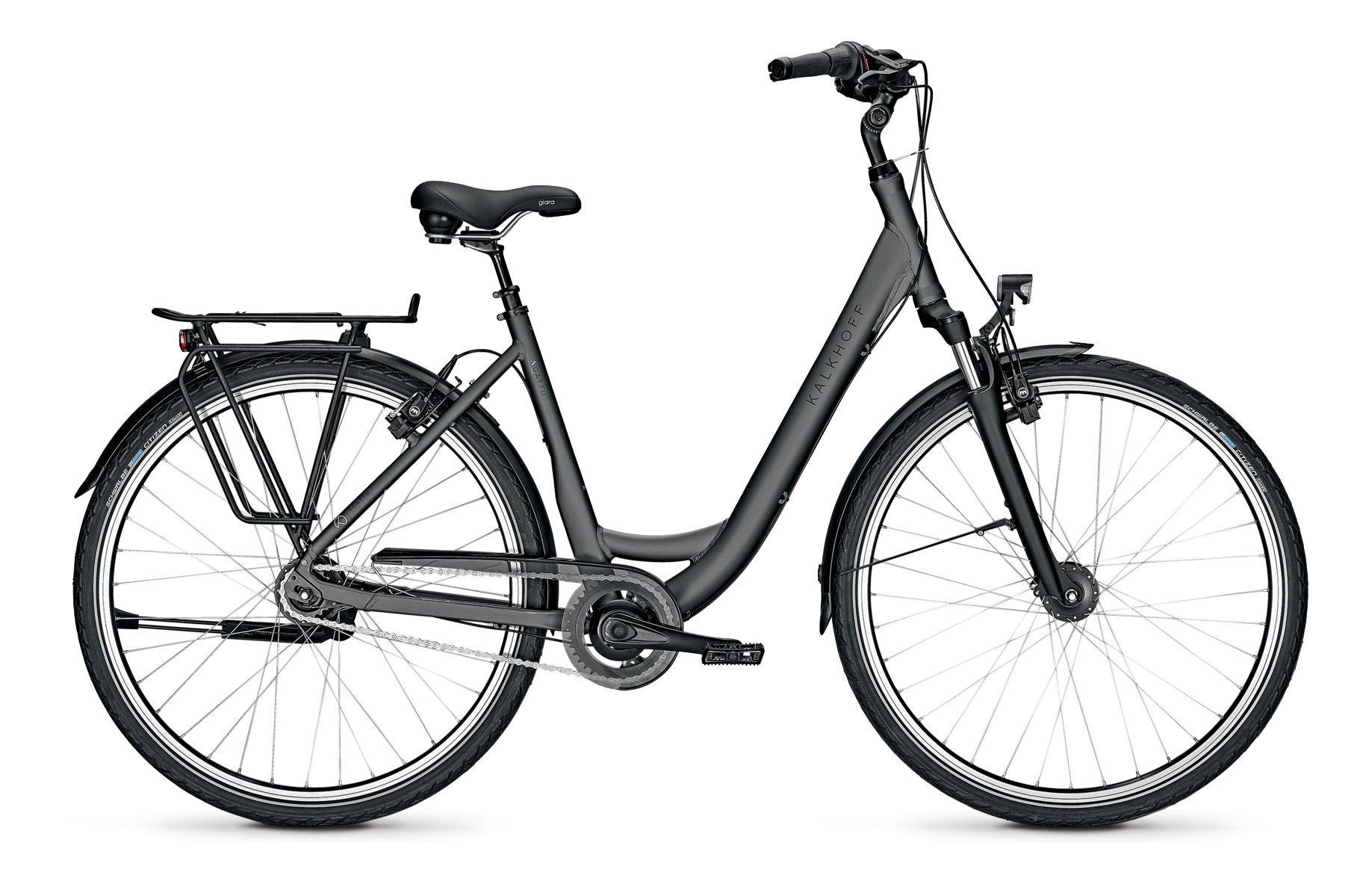 Kalkhoff Agattu XXL 8R Trekking Fahrrad 2021 Jetgrey Matt