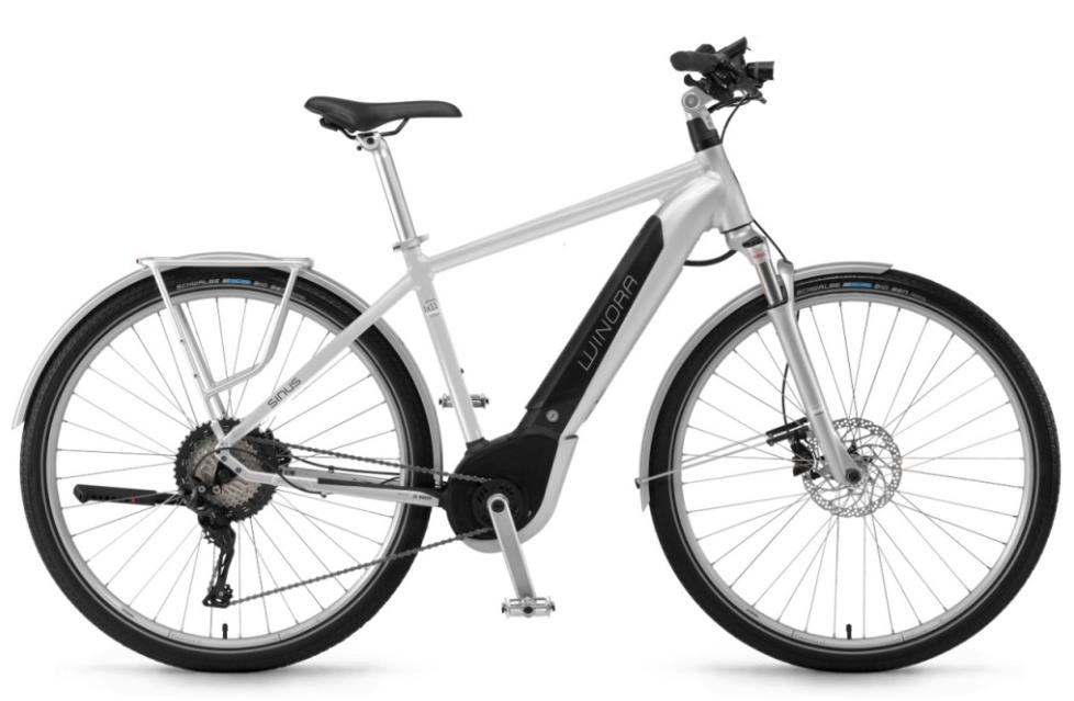 Winora Sinus 2018 iX11 Urban 500Wh Bosch Intube Elektro Fahrrad 2018 Sinus 1f1227